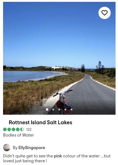 rottnest salt lakes